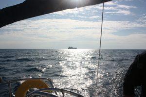 tengeri vitorlás túra hajó